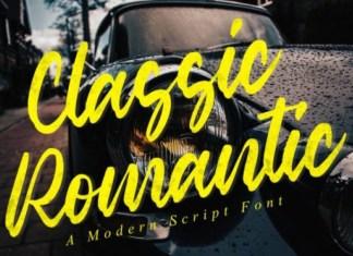 Classic Romantic Font