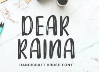 Dear Raina Font