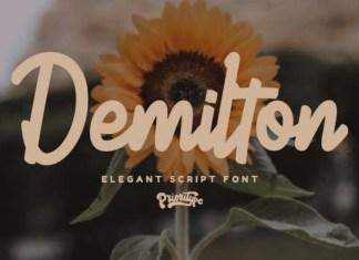 Demilton Font
