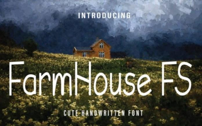 Farmhouse Font