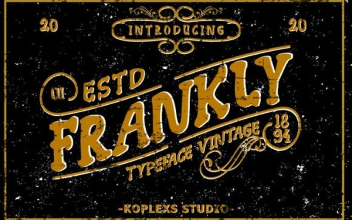 Frankly Font