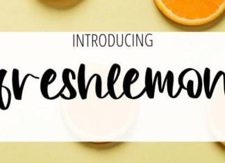 Freshlemon Font