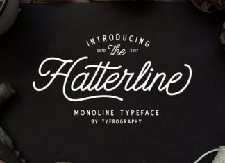 Hatterline Font