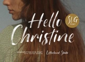 Hello Christine Font