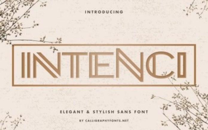 Intenci Font