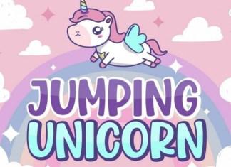 Jumping Unicorn Font