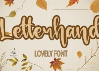 Letterhand Font