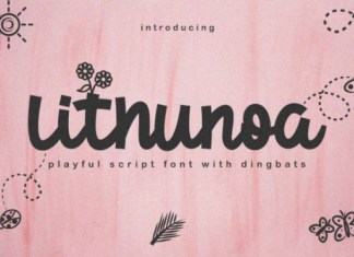 Lithunoa Font