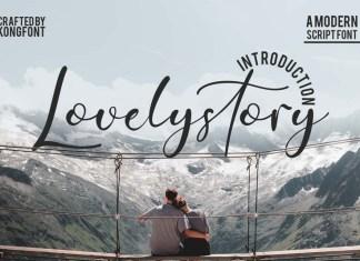 Lovelystory Font