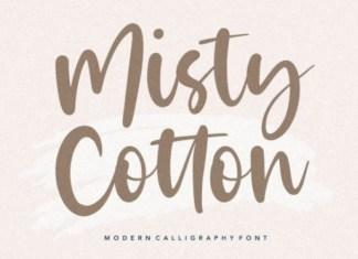 Misty Cloud Font