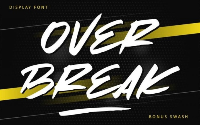 Over Break Font