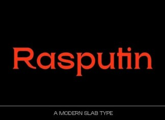 Rasputin Font