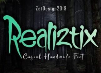 Realiztix Font