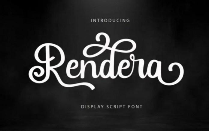 Rendera Font