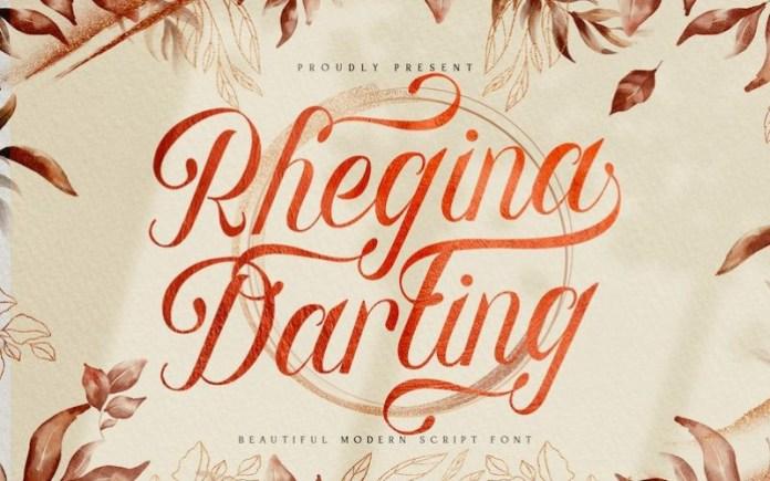 Rhegina Darling Font