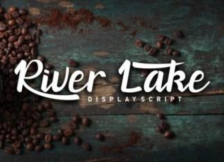 River Lake Font