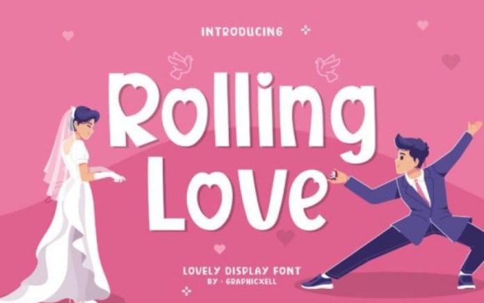 Rolling Love Font