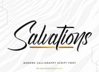 Salvations Font