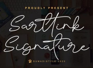 Sarttink Font