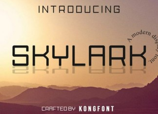Skylark Font