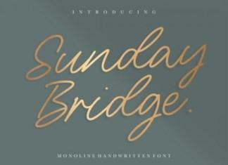 Sunday Bridge Font