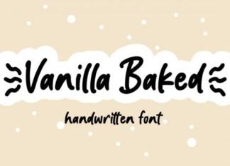 Vanilla Baked Font