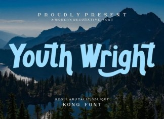Youth Wright Font