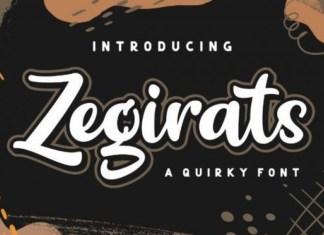 Zegirats Font