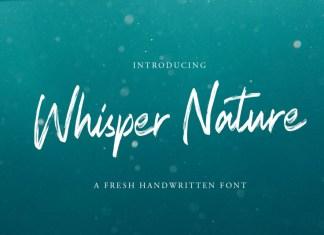 Whisper Nature Font