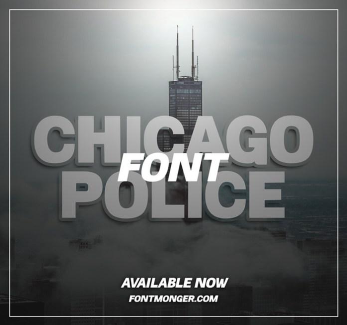 Chicago Police Font