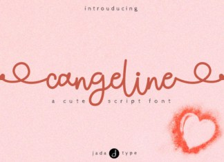 Cangeline Font