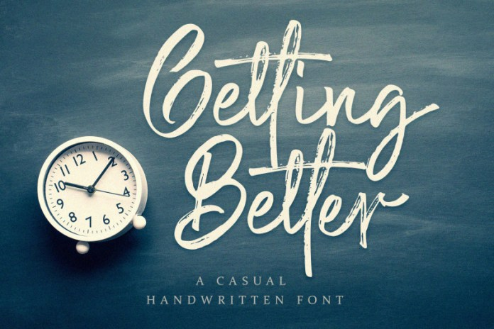 Getting Better Font