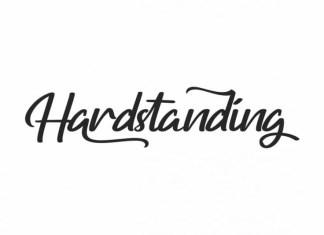 Hardstanding Font