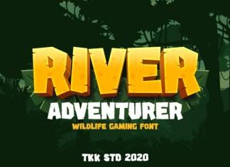 River Adventurer Font