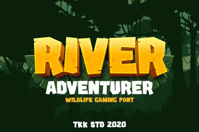 River Adventurer Font