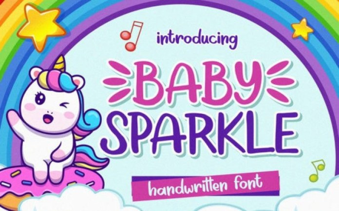 Baby Sparkle Font
