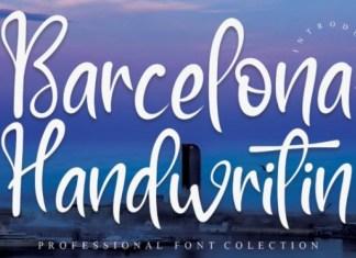 Barcelona Font