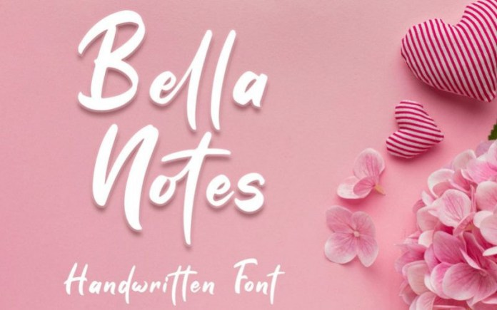 Bella Notes Font