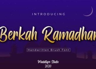 Berkah Ramadhan Font