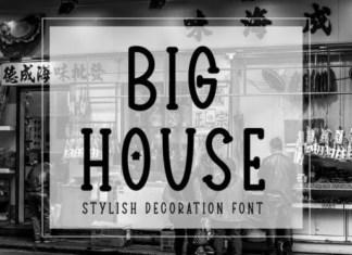 Big House Font
