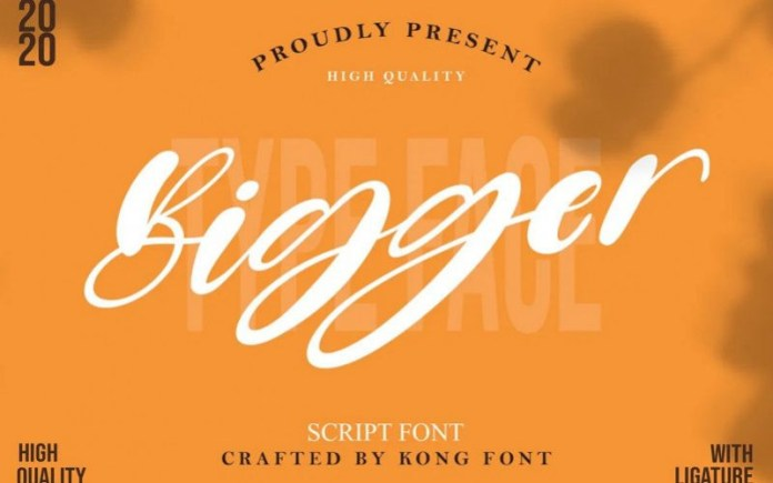 Bigger Font
