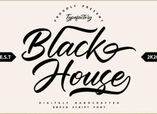 Blackhouse Font