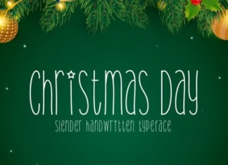 Christmas Day Font
