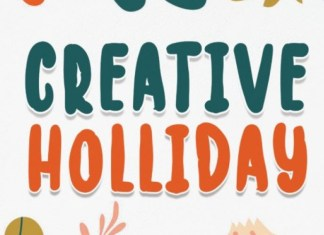 Creative Holliday Font