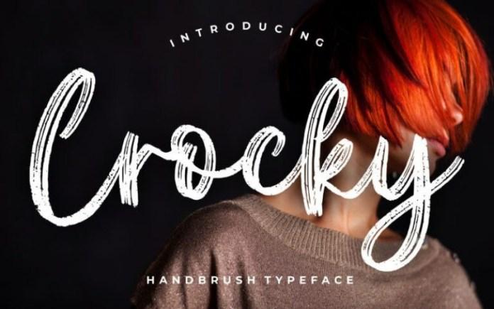 Crocky Font