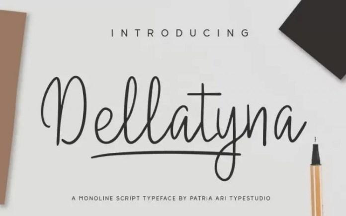 Dellatyna Font