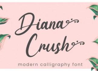 Diana Crush Font