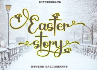 Easter Story Font