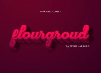 Flourground Font