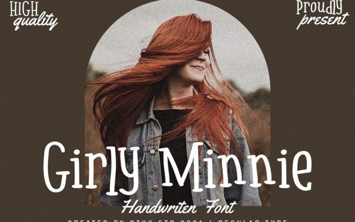 Girly Minnie Font